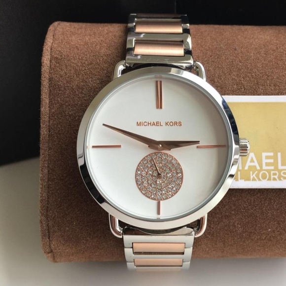 62efe642979b BRAND NEW Michael Kors Portia Ladies Watch MK3709